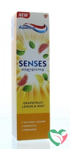 Aquafresh Tandpasta senses grapefruit