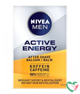 Nivea Men active energy 2 in 1 aftershave balsem