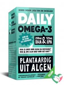 Daily Supplement Daily omega-3 DHA 250/EPA 125 vegan