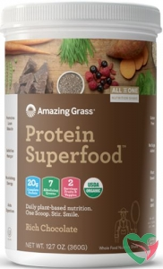 Amazing Grass Protein superfood rich chocolate