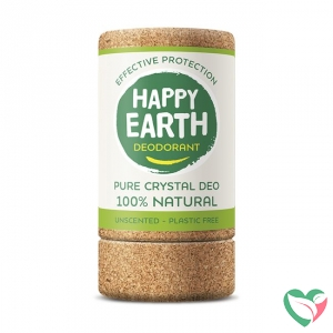 Happy Earth Pure crystal deodorant unscented