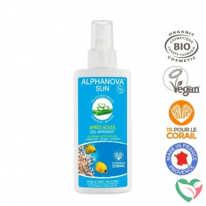Alphanova Sun Sun vegan after sun spray bio