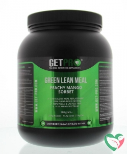 Getpro Ultimate lean meal peachy mango sorbet