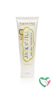 Jack N Jill Natural toothpaste flavour free