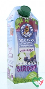 Cool Bear Siroop cassis-appel