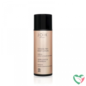 Joik Sunless tan body lotion medium