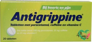 Antigrippine Antigrippine 250 mg paracetamol