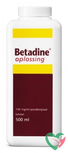 Betadine Jodium oplossing 100 mg/ml