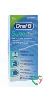 Oral B Floss super mint regular