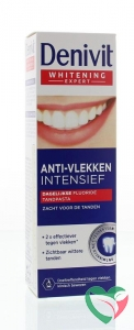 Denivit Tandpasta anti-stain intense teeth whitening
