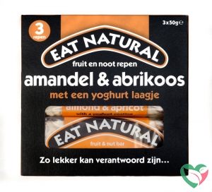 Eat Natural Almond apricot yoghurt 3 x 50 gram