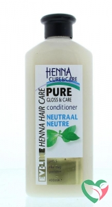 Henna Cure & Care Conditioner pure no parabens neutraal