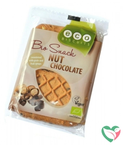 Ecobiscuit Noten / chocolade biscuit bio