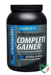 Lamberts Weight gainer strawberry whey proteine