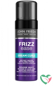 John Frieda Frizz ease foam air dry waves