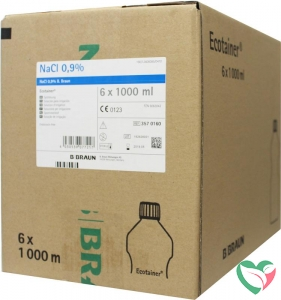 Braun Medical Spoelvloeistof nacl 0.9% ecotainer 1000 ml