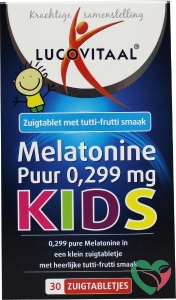 Lucovitaal Melatonine kids puur 0.299 mg