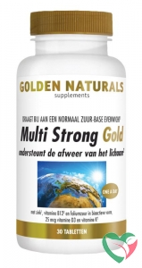Golden Naturals Multi strong gold
