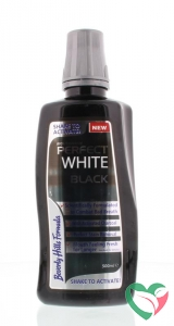 Beverly Hills Perfect white black sensitive mouthwash