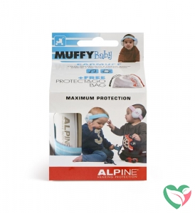 Alpine Muffy baby blue oorkappen