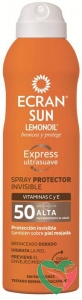 Ecran Invisible carrot spray SPF50