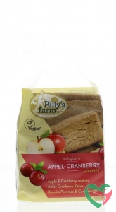 Billy's Farm Appel cranberry staafjes