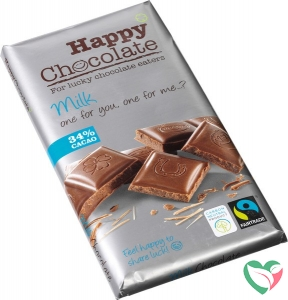 Happy Happy chocolate melk 34%
