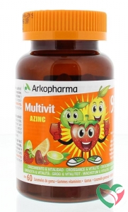 Azinc Multi vitamine fruitgum