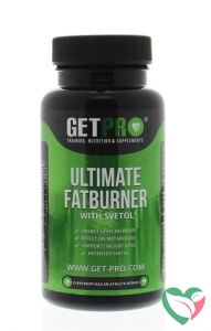 Getpro Ultimate fatburner with svetol