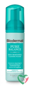 Biodermal Pure balance renewing cleansing mousse