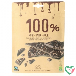 Belvas Thins dark 100% bio