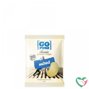 Go Pure Chips naturel gezouten