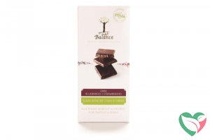 Balance Choco stevia tablet puur bosbes