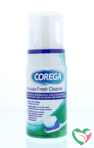 Corega Fresh cleanse mousse