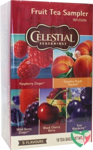 Celestial Season Fruit sampler herb tea