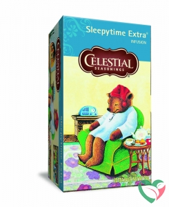 Celestial Season Sleepytime extra wellness tea