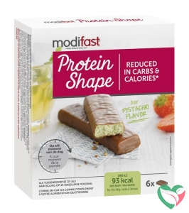 Modifast Protein shape reep chocolade/pistache