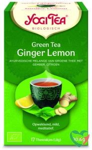 Yogi Tea Green tea ginger lemon bio