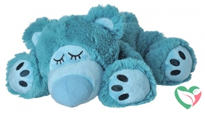Warmies Sleepy bear turquoise