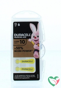 Duracell Hearing aid nummer 10