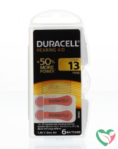 Duracell Hearing aid nummer 13