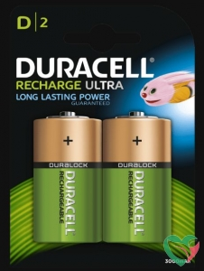 Duracell Rechargeable D HR20