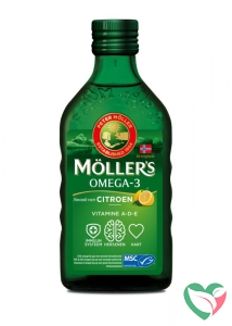 Mollers Omega-3 levertraan citroen