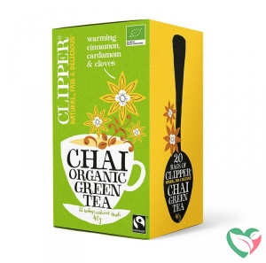 Clipper Chai green tea bio