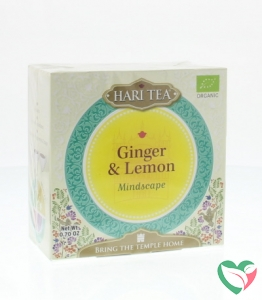 Hari Tea Mindscape ginger & lemon bio