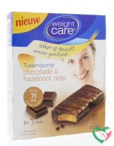 Weight Care Tussendoortje chocola & hazelnoot