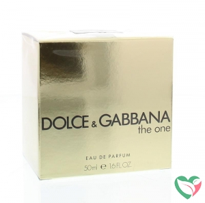 Dolce & Gabbana The one eau de parfum vapo female