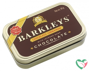 Barkleys Chocolate mints cinnamon
