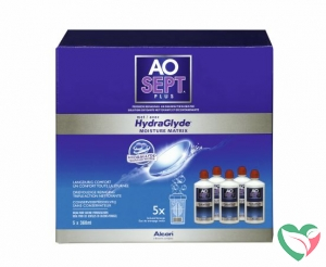 Aosept Plus hydraglyde multi-pack