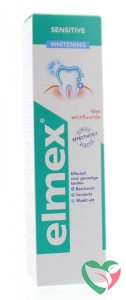 Elmex Tandpasta sensitive professional gentle whitening